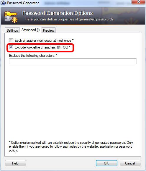 PasswordGenerator-Advanced