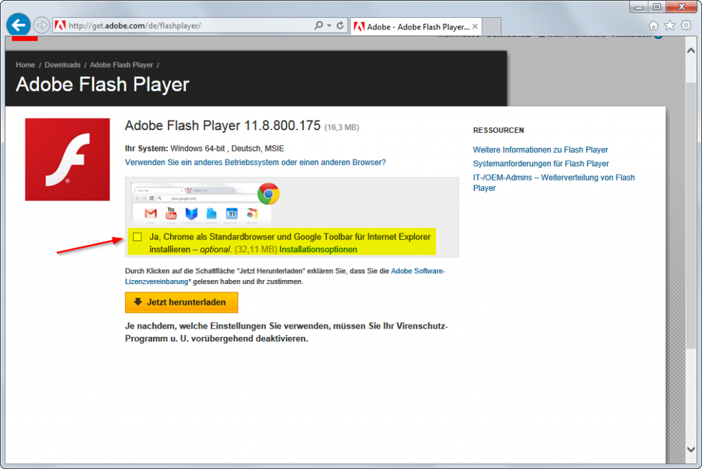 Adobe Flash Player 1 Download