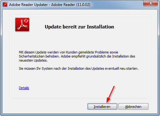 Adobe Reader Updater 3 Installieren