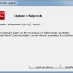 Adobe Reader Updater 4 Erfolgreich