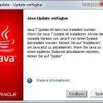 Java-Update 2 Verfügbar
