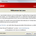 Java-Update 3 Installieren
