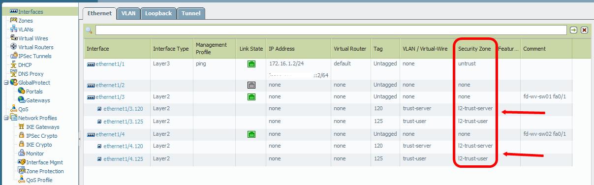 Layer 2 Redundancy with STP: Palo Alto Firewall + Cisco