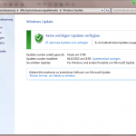 Windows Update 2 Keine wichtigen Updates verfügbar