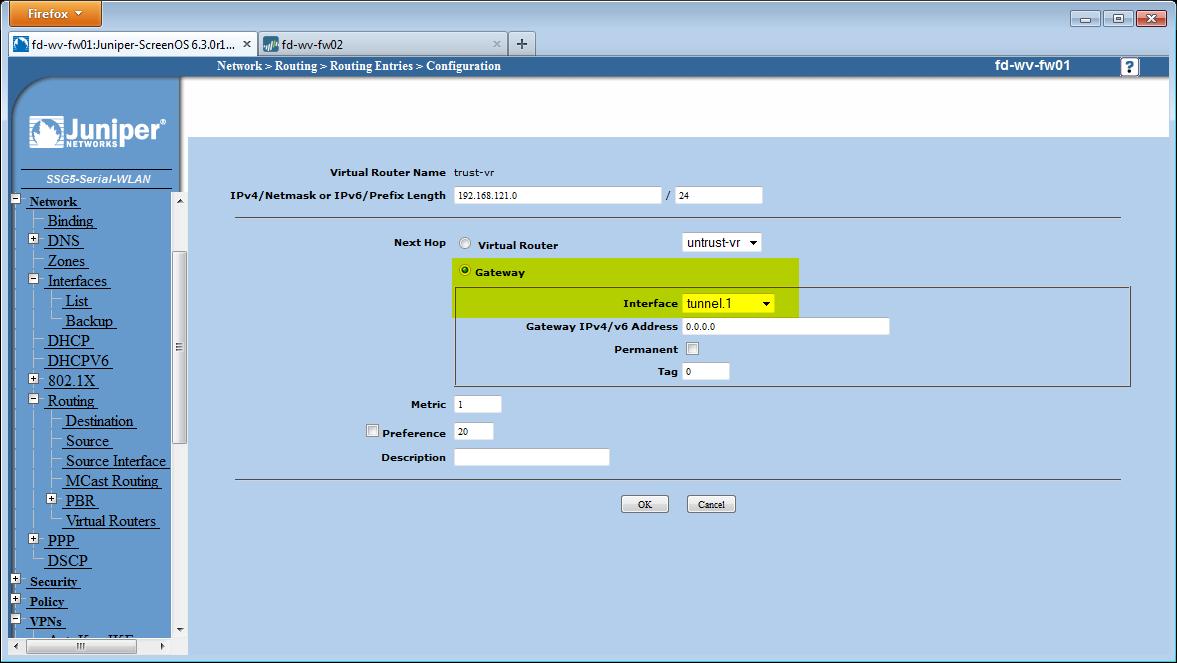 IPsec Site-to-Site VPN Palo Alto Juniper ScreenOS | Blog Webernetz net