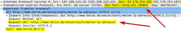 HTTP heise.de with proxy featured image