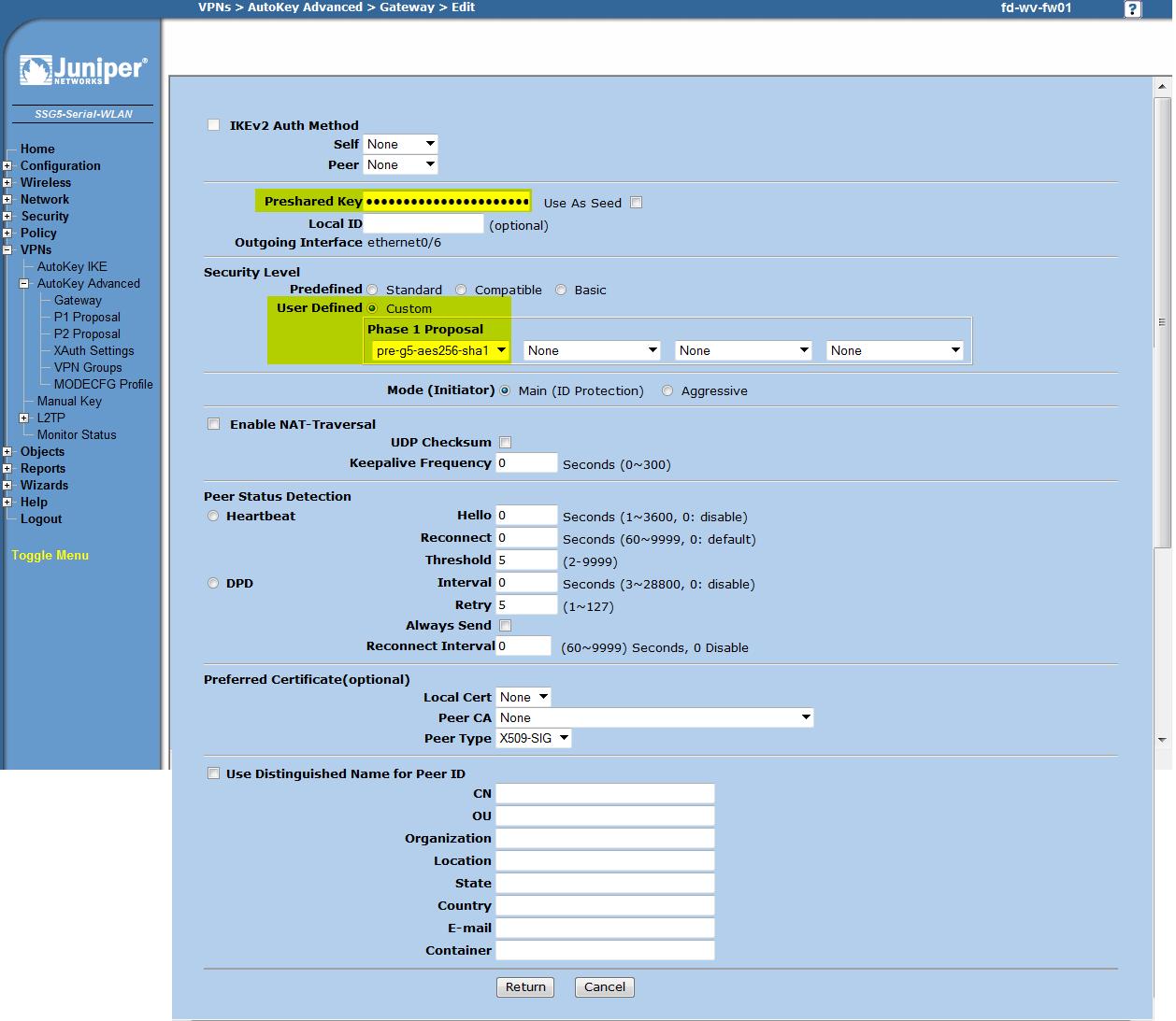 Change vpn credentials windows 8 1