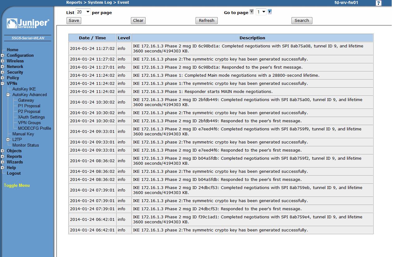 IPsec Site-to-Site VPN Juniper ScreenOS Cisco ASA   Blog