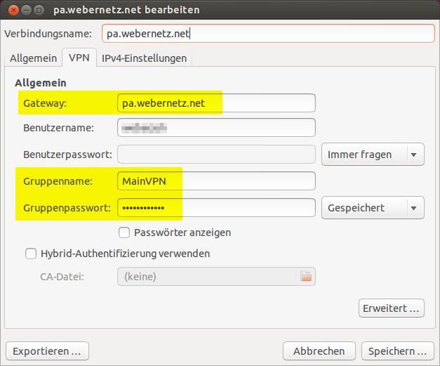 GlobalProtect vpnc - Linux VPN