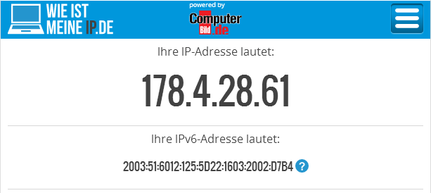 wieistmeineip.de IPv4-to-the-left IPv6-to-the-right