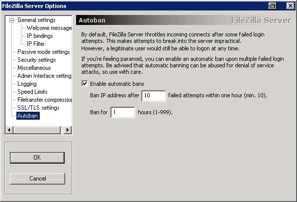 Filezilla ipv6 deaktivieren