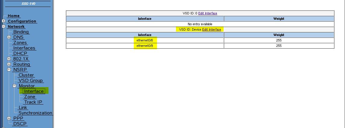 Juniper ScreenOS NSRP: Configuration via GUI, NSM, and CLI | Blog