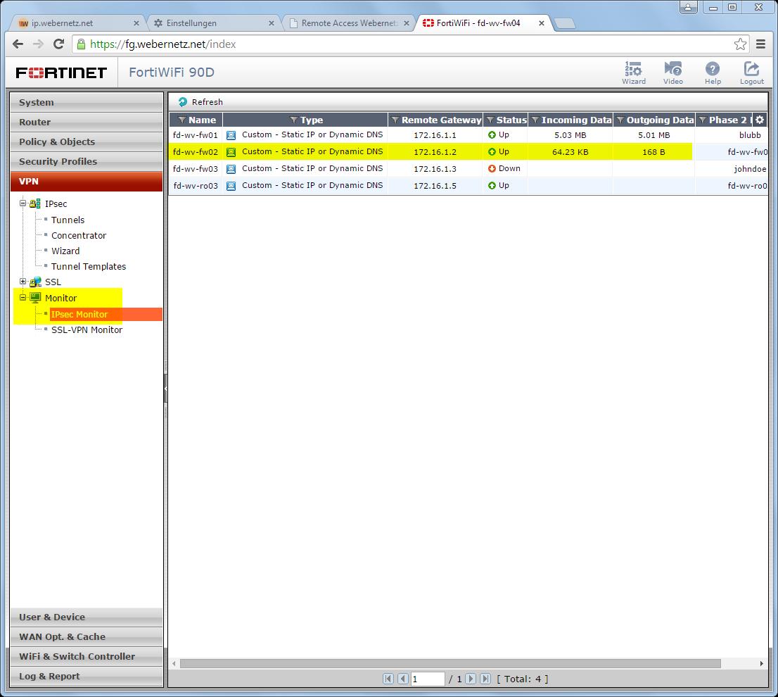 Ipsec site to site vpn palo alto fortigate blog webernetz ipsec monitor on the fortigate xflitez Images