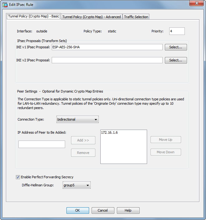 Server 2003 vpn settings