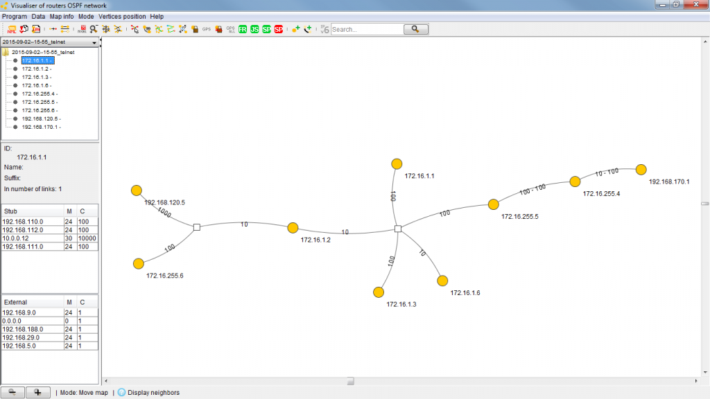 OSPF-Visualiser
