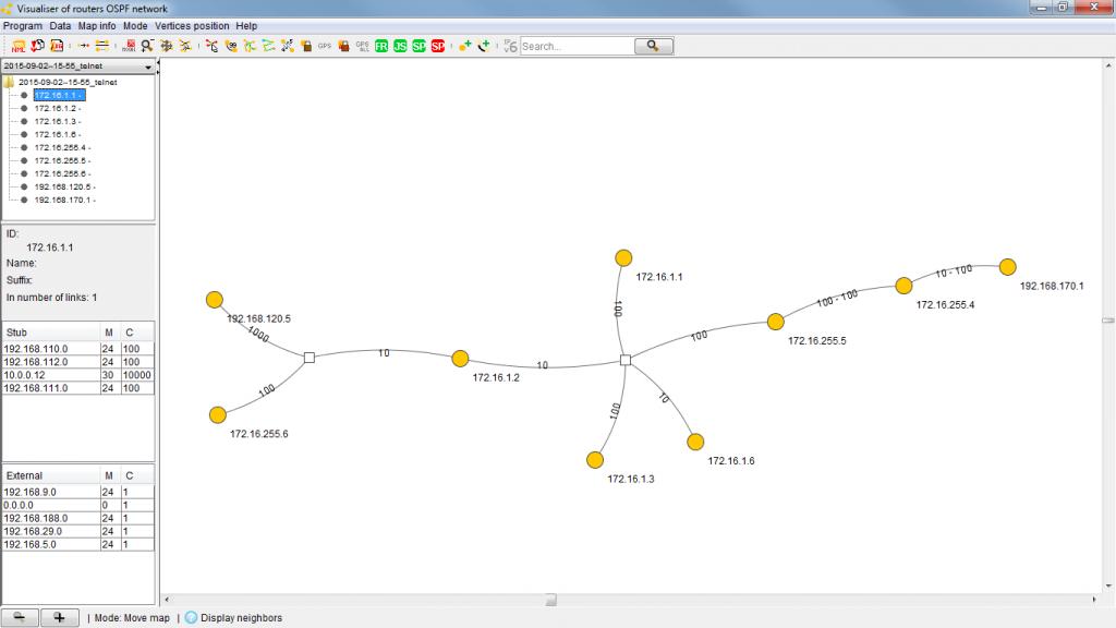 OSPF-Visualiser