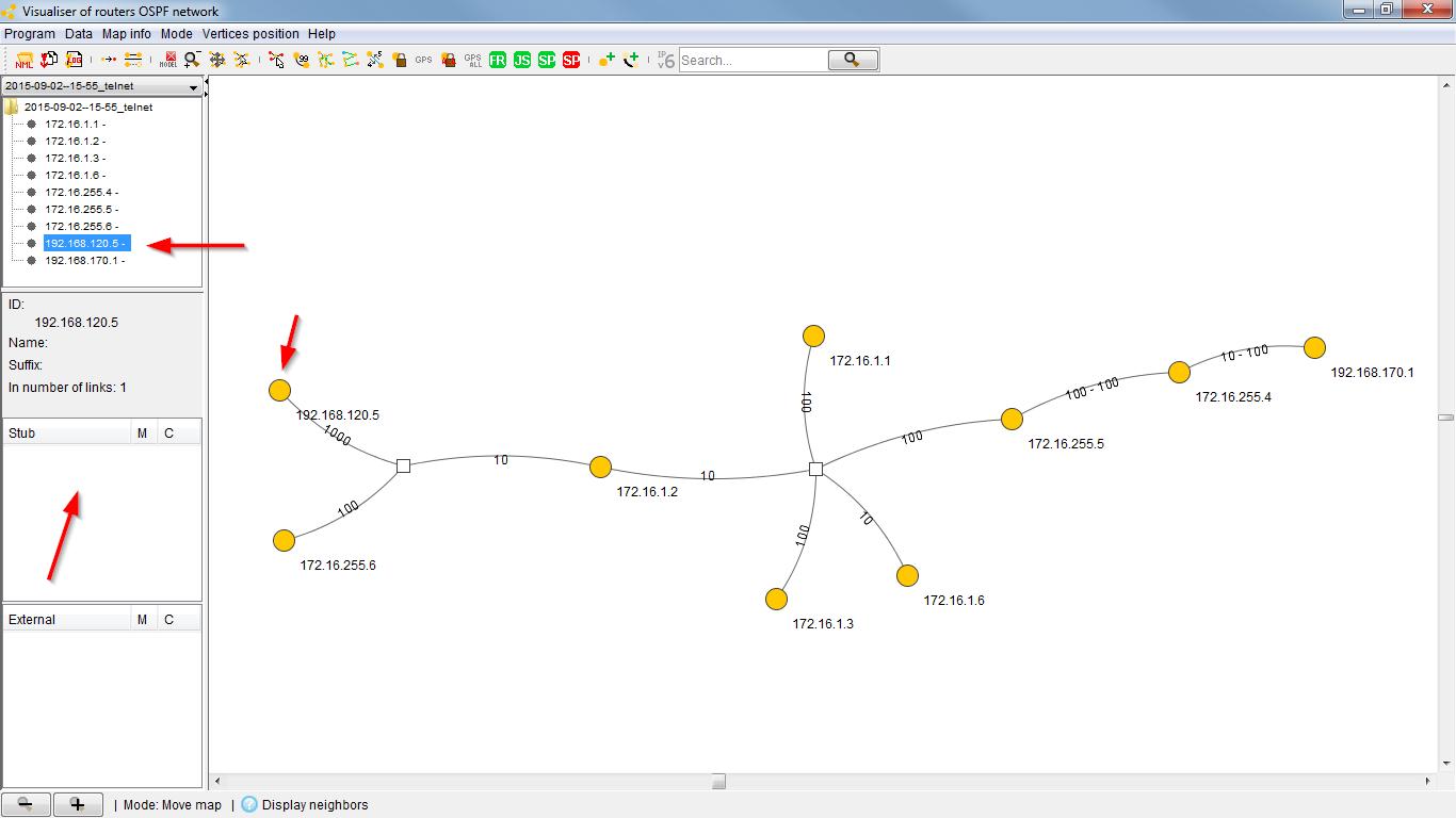 OSPF Visualizer | Blog Webernetz net
