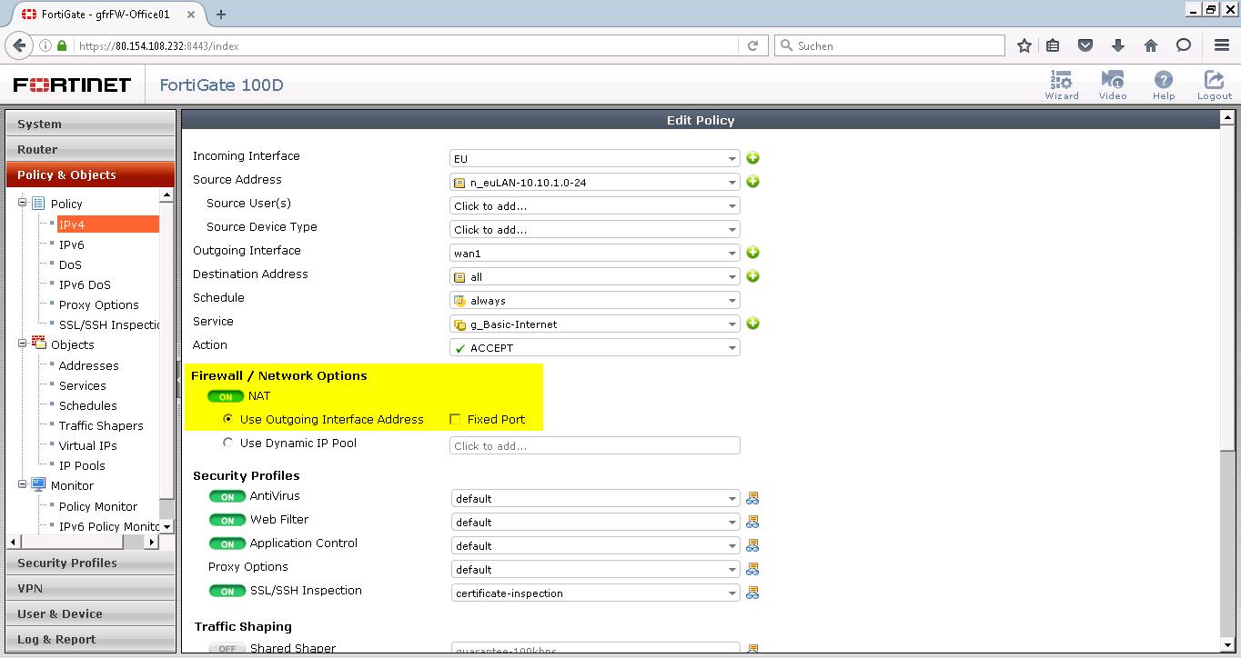 FortiGate Virtual IPs without Reference | Blog Webernetz net
