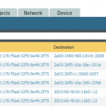 """Main Site Traffic Log from """"vpn-s2s"""" to """"untrust""""."""