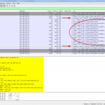 A complete zone transfer (tested with dig axfr) requires lots of messages.