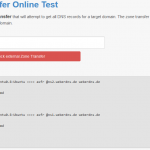 Zone Transfer Online Test