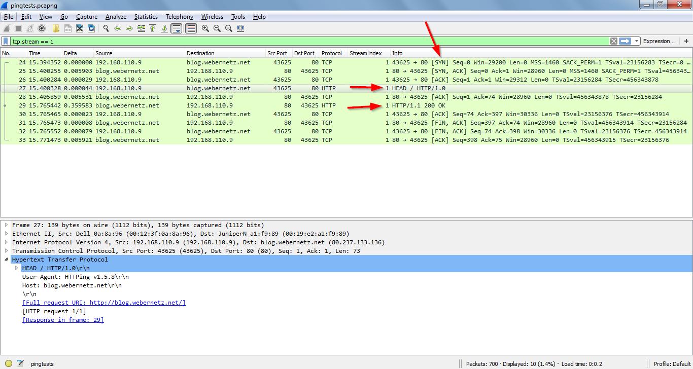Advanced Ping: httping, dnsping, smtpping | Blog Webernetz net