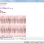 Wireshark follow TCP stream 1/2.