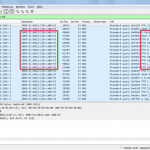 DNS queries from the DNS Proxy to the primary DNS server.