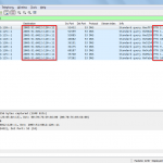 Queries to the reverse DNS server with only certain PTR records.
