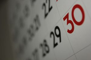 """Calendar*"" by Dafne Cholet is licensed under CC BY 2.0"