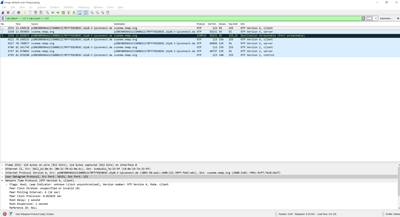 Nmap Packet Capture | Blog Webernetz net