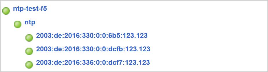 Load Balancing NTP via F5 BIG-IP LTM | Blog Webernetz net