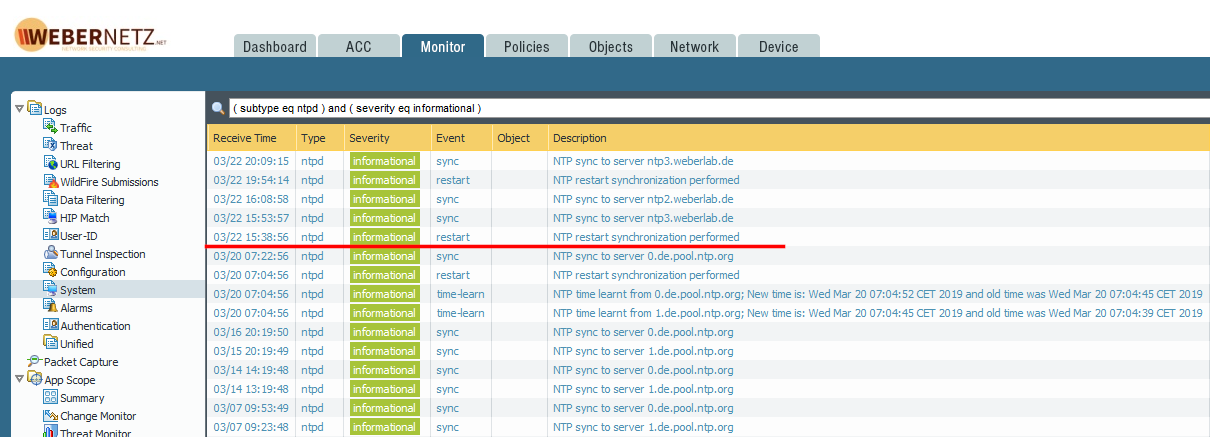 Palo Alto Networks NGFW using NTP Authentication | Blog