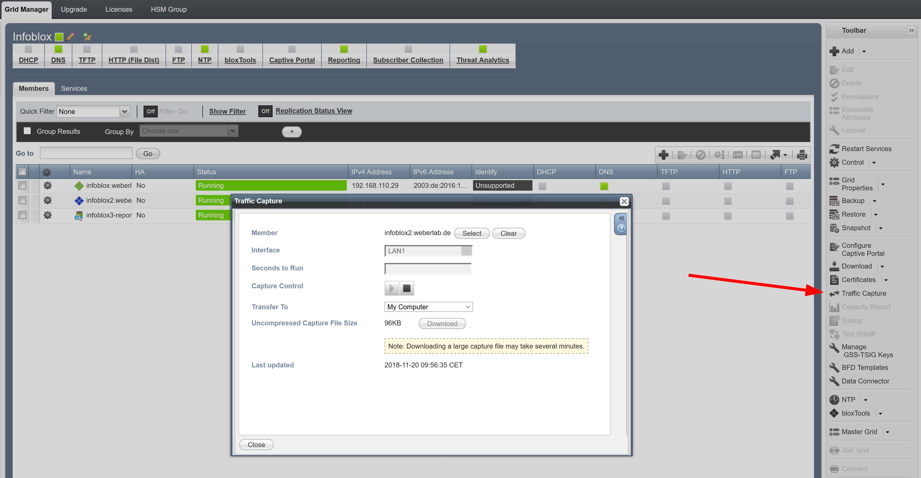 CLI Commands for Troubleshooting Infoblox | Blog Webernetz net